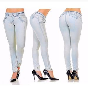 Sexy pushup colombian jeans
